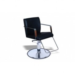 #SC003.06 U STYLING CHAIR W/ ROUND BASE