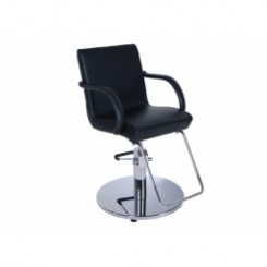 #SC133.05 U STYLING CHAIR W/ FLAT ROUND BASE